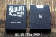 Sherlock Holmes, Moriarty Edition, Version 2 Playing cards