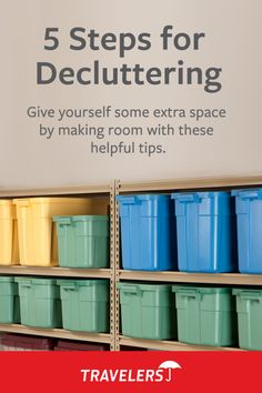 Wondering where to start when it comes to decluttering your home for sale? Here are 5 steps to help make the process more manageable. Clutter Organization, Household Organization, Garage Organization, Organization Ideas, Storage Ideas, Garage Storage, Storage Solutions, Cleaning Checklist, House Cleaning Tips