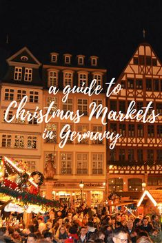 Thinking of visiting Germany during the holidays? Here's a complete guide to experiencing Christmas Markets in Germany from where to go, what to do, and what to eat & drink while you're at them. Travel in Europe. Christmas Markets Germany, German Christmas Markets, Christmas Markets Europe, Christmas Travel, Holiday Travel, Dusseldorf Christmas Market, Cologne Christmas Market, Europe Travel Tips, European Travel