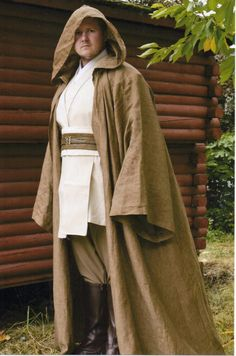 Men's Jedi Robe Made to Order by fantasicostuming on Etsy, $300.00