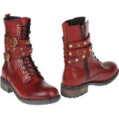 FRANKIE MORELLO Combat boots - Polyvore