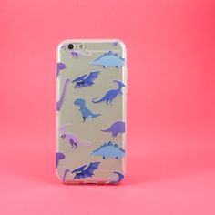 Clear TPU Case Cover - Dino Time – Milkyway