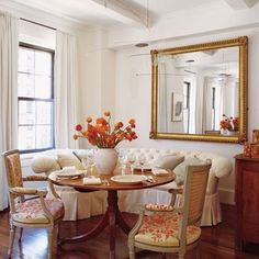 Mariette Himes Gomez : Designers' and Architects' Own Dining Rooms : Architectural Digest