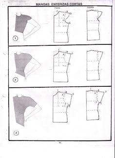 blusas sencillas de hacer.