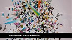 Generative Art and the Internet