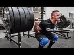 WWE Superstar John Cena Squats 495lbs While Training With Antonio Cesaro