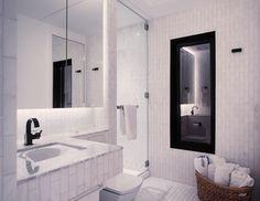 Small bathroom in prefab