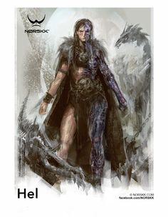 Regin: Hel: Goddess of Hel