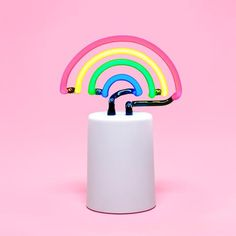 rainbow neon light - small