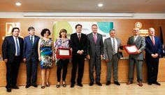 En el acto de entrega de los galardones de la jornada conmemorativa del Día Mundial del Cooperativismo
