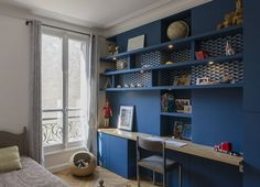 – Paris furnished and decorated by the interior designer Vanessa Faivre Source by turbulencesdeco