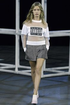 Alexander Wang - Runway RTW - Spring 2014 - New York Fashion Week