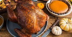 See our best brined and smoked turkey and elevate Thanksgiving this year. This step by step guide will give you crispy, perfect color, and the best wood-fired flavor achieved by your pellet grill. Pellet Grill Recipes, Smoker Recipes, Grilling Recipes, Traeger Turkey, Smoked Whole Turkey, Smoked Turkey Brine, Bbq Chicken Legs, Grilled Turkey, Best Turkey