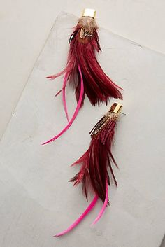 Polly Feather Earrings