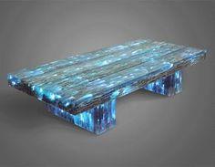 """Treasure island"" Coffee table from Treecycled Furniture"