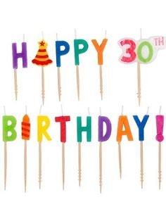 Dots And Stripes Birthday Pick Candles 30th Birthday Celebration Ideas, Happy 60th Birthday, Happy 30th, Birthday Candles, Dots, Stripes, Amazon, Stitches, Amazons