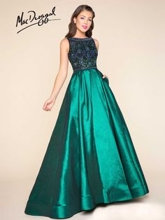 a073995b40eeb Mac Duggal Ballgown 77125H Prom Homecoming Formal Dress