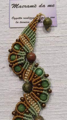 Jewelry Knots, Macrame Jewelry, Macrame Bracelets, Macrame Knots, Micro Macrame, Fiber Art Jewelry, Jewelry Art, Diy Bracelets With String, Jewelery