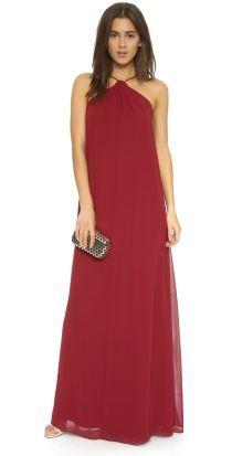 Joanna August Casey Keyhole Twist Maxi Dress |
