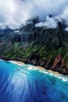 Na Pali Coast, Hawaii, USA