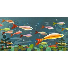 Yes, Amy Schimler-Safford, please show us some more collage (from Splish Splash/Simon and Schuster) Ocean Canvas, Canvas Wall Art, Collage Techniques, Children's Book Illustration, Book Illustrations, Illustration Children, Watercolor Illustration, Guache, Fish Art