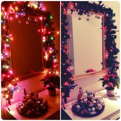 Weihnachtliche Tannengirlande