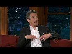 Peter Capaldi chats with friend Craig Ferguson on the Late Late Show - can't wait to see him back on now that he's the 12th Doctor!!!