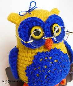 Ikeiko the owl - amigurumi PDF ebook crochet pattern