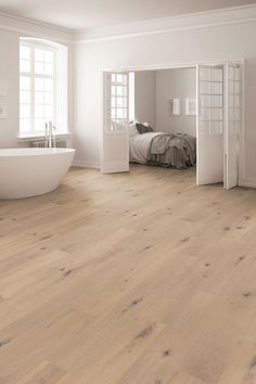 Plank Oak Stockholm- Landhausdiele Eiche Stockholm woodbase PREMIUM plank Stockholm Stockholm knotty brushed raw-look oiled - Wood Parquet, Wooden Flooring, Hardwood Floors, Oak Flooring, Flooring Ideas, Floor Design, Cool Rooms, Living Room Designs, New Homes