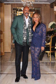 Steve and Marjorie Harvey - Marjorie Harvey Slayed Paris Fashion Week Like We Knew She Would