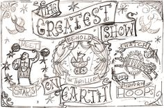 Greatest Show on Earth - rough sketch