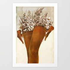 Art Print featuring Gladiolous by Eugenia Loli