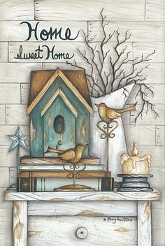 Home Sweet Home (Mary Ann June)