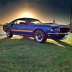 Ray's 1969 Mach 1 #Mustang is here to carry us off into the sunset.