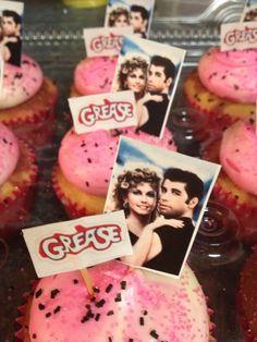Grease cupcakes