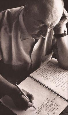 Neruda: One of my favorite poets.