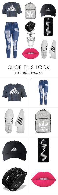 """""""ALWAYS AMAZING I"""" by fatimachavezdagry ❤ liked on Polyvore featuring adidas, Topshop, Samsung, Lime Crime and Avon"""