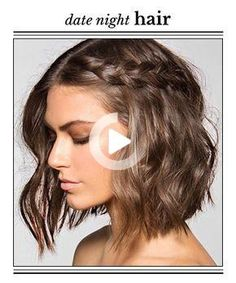 From romantic curls to sexy, tousled waves, the most gorgeous ways to make a stunning first (or 40th) impression Haircut Styles For Women, Short Haircut Styles, Short Hair Styles Easy, Medium Hair Styles, Medium Length Hair Men, Hair Medium, Natural Hair Styles, Hairstyles Long Bob, Cute Braided Hairstyles