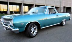 This 1965 Chevy El Camino is being auctioned off on GovLiquidation.
