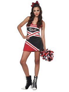 Classic Cheerleader Teen Costume - fancydress.com