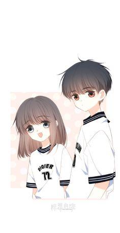 Cool Anime Girl, Cute Anime Pics, Anime Art Girl, Cute Couple Art, Anime Love Couple, Anime Couples Drawings, Anime Couples Manga, Anime Cupples, Kawaii Anime