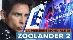 ZOOLANDER 2: La Premiere MONDIALE di Roma!   Ben Stiller, Owen Wilson, W...