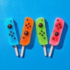 Nintendo Switch Joy-Con Summer Ice Pops - Geek World Nintendo Switch System, Nintendo Switch Games, Nintendo Wii Controller, Nintendo Consoles, Nintendo Party, Nintendo Room, Super Nintendo, Nintendo 3ds, Nintendo Switch Accessories