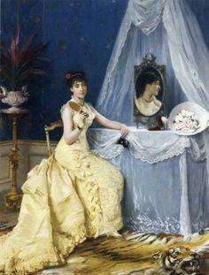 Charles Louis Baugniet (1814 – 1886) – Pintor Belga_23
