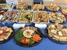 Catering: Spread. www.myfreshandfabulous.com