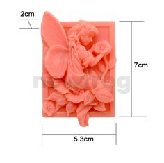 Soft Silicone Flower Pixie Chocolate Mould Handmade Soap Candle Mould DIY Maker | eBay