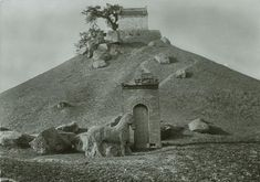 Курган любимца императора У-ди, полководца Хо Цюйбина. Эпоха Хань