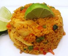 "My Colombian Recipes | Colombian Food and International Flavors - Awsome recipes including for this yummy chicken and rice ""arroz con pollo"""