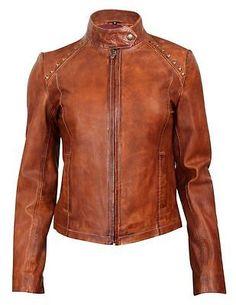Durango Western Jacket Womens Leather Company Belle Cognac DLC0046