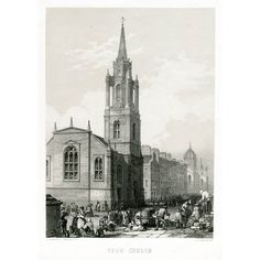 Macpherson, for 'The Kirk and the Manse' by Rev. Published in 1857 by A. Fullerton & Co. Page size approx. Visit Edinburgh, Barcelona Cathedral, Notre Dame, Scotland, City, Travel, Viajes, Cities, Destinations